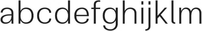 Clinica Pro Light otf (300) Font LOWERCASE