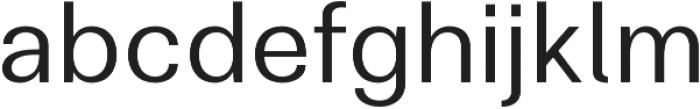 Clinica Pro Regular otf (400) Font LOWERCASE