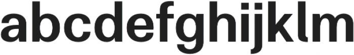 Clinica Pro SemiBold otf (600) Font LOWERCASE