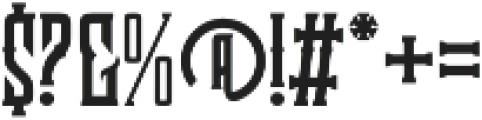 Clobot Light otf (300) Font OTHER CHARS