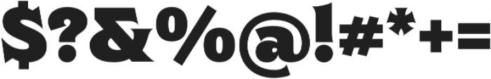 Clockmaker Black otf (900) Font OTHER CHARS