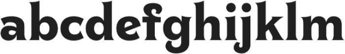 Clockmaker Bold otf (700) Font LOWERCASE