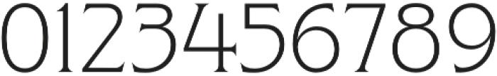 Clockmaker Light otf (300) Font OTHER CHARS