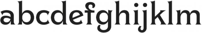 Clockmaker Medium otf (500) Font LOWERCASE