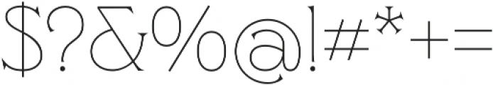 Clockmaker Thin otf (100) Font OTHER CHARS