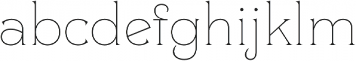 Clockmaker Thin otf (100) Font LOWERCASE