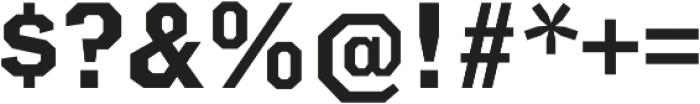 Clockpunk Small Caps otf (400) Font OTHER CHARS