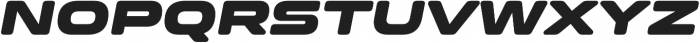 Clonoid Black Italic otf (900) Font UPPERCASE