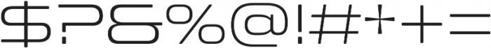 Clonoid Light otf (300) Font OTHER CHARS