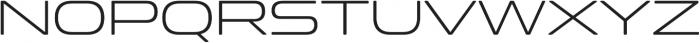 Clonoid Light otf (300) Font UPPERCASE