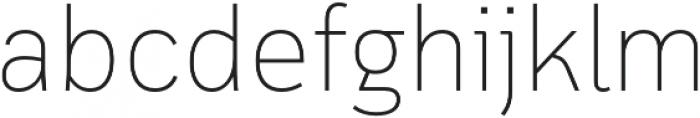 Cloud otf (100) Font LOWERCASE