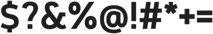 Cloud otf (600) Font OTHER CHARS