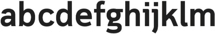 Cloud otf (600) Font LOWERCASE