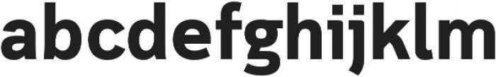 Cloud otf (700) Font LOWERCASE