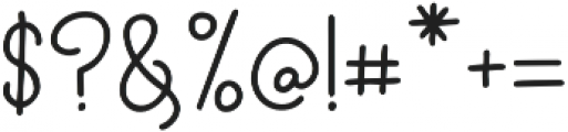 CloverFox otf (400) Font OTHER CHARS