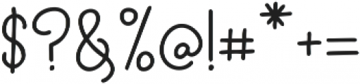 CloverFoxLigatures ttf (400) Font OTHER CHARS