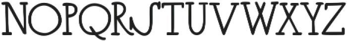 CloverFoxLigatures ttf (400) Font LOWERCASE