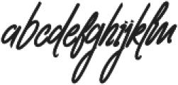Clovvo otf (400) Font LOWERCASE