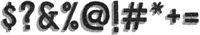 Cluster Regular otf (400) Font OTHER CHARS