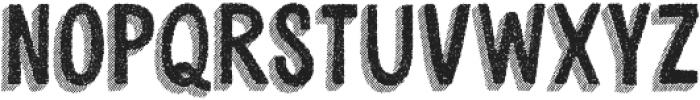 Cluster Regular otf (400) Font UPPERCASE
