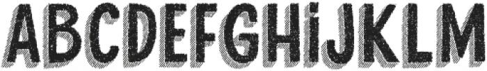 Cluster Regular otf (400) Font LOWERCASE