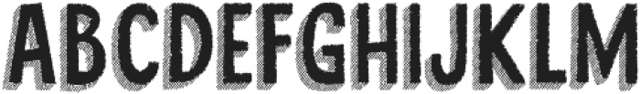 Cluster Too otf (400) Font UPPERCASE