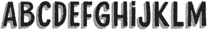 Cluster Too otf (400) Font LOWERCASE