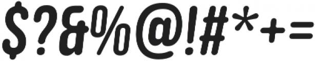 Clutch Sans Bold Oblique otf (700) Font OTHER CHARS