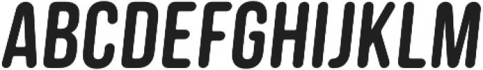 Clutch Sans Bold Oblique otf (700) Font UPPERCASE