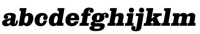 Clarendon Graphic Black Sltd+Ita Font LOWERCASE