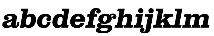 Clarendon Graphic Bold Sltd+Ita Font LOWERCASE