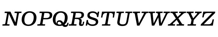 Clarendon Graphic Regular Sltd+Ita Font UPPERCASE