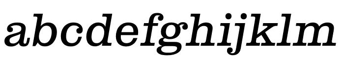 Clarendon Graphic Regular Sltd+Ita Font LOWERCASE