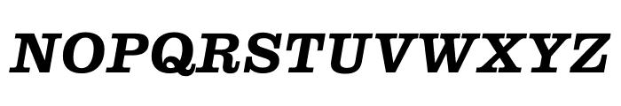 Clarendon Graphic Semibold Sltd+Ita Font UPPERCASE