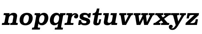 Clarendon Graphic Semibold Sltd+Ita Font LOWERCASE