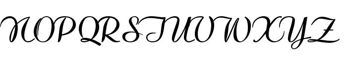Clarinda-Bold Font UPPERCASE