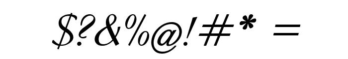 Clarinda-BoldItalic Font OTHER CHARS