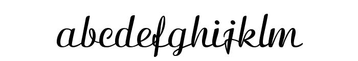 Clarinda-Bold Font LOWERCASE
