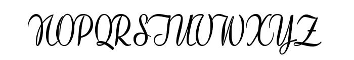 Clarinda-CondensedBold Font UPPERCASE