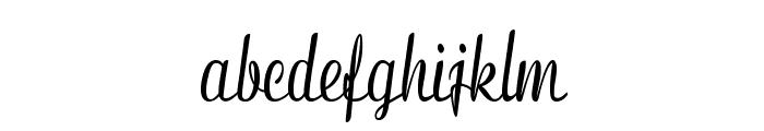 Clarinda-CondensedBold Font LOWERCASE