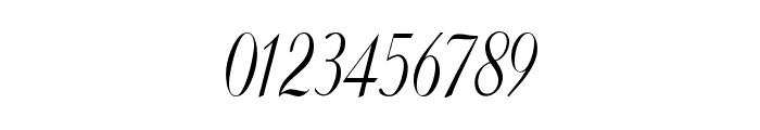 Clarinda-CondensedItalic Font OTHER CHARS