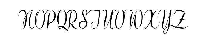 Clarinda-CondensedRegular Font UPPERCASE