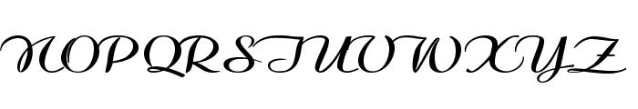 Clarinda-ExpandedBold Font UPPERCASE