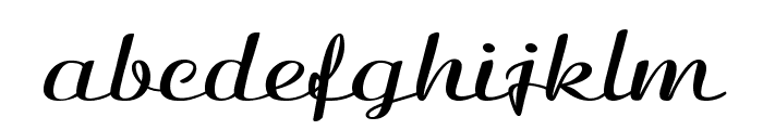 Clarinda-ExpandedBold Font LOWERCASE
