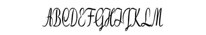 Clarinda-ExtracondensedBold Font UPPERCASE