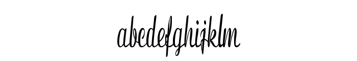 Clarinda-ExtracondensedBold Font LOWERCASE