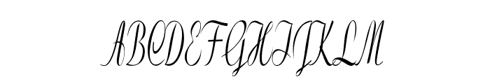 Clarinda-ExtracondensedItalic Font UPPERCASE