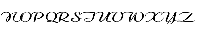 Clarinda-ExtraexpandedBold Font UPPERCASE