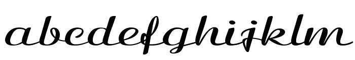 Clarinda-ExtraexpandedBold Font LOWERCASE