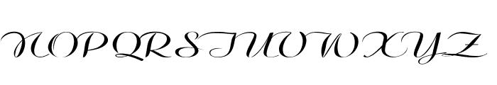 Clarinda-ExtraexpandedRegular Font UPPERCASE